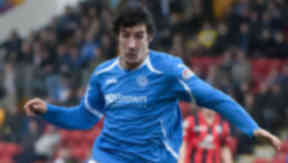 St Johnstone striker Francisco Sandaza.