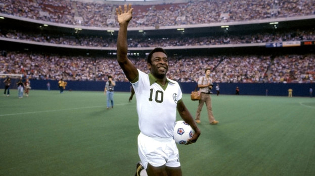 Pele's presence established the New York Cosmos as an international brand during their NASL days.