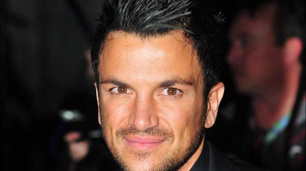 Peter Andre becomes a barman