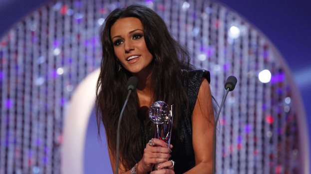 Sexiest Female: Michelle Keegan picked up the honour at the British Soap Awards 2012