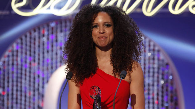 Best Newcomer: Natalie Gumede (Kirsty Soames in Coronation Street) picked up the gong at the British Soap Awards