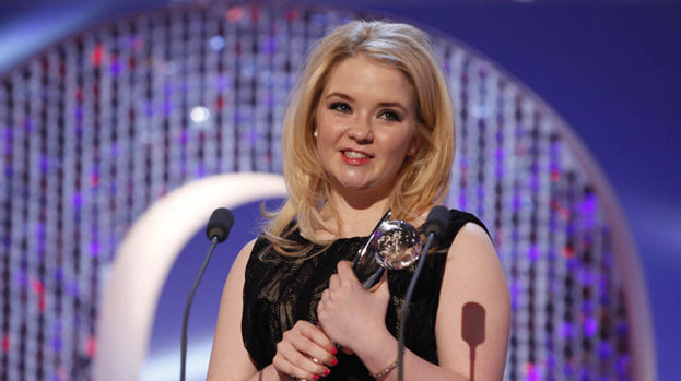 Best Young Performance: Lorna Fitzgerald won the gong at the British Soap Awards 2012 for her role in EastEnders