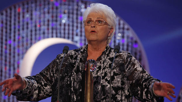 A Pat on the back for Pam: Pam St. Clement wins Lifetime Achievement Award
