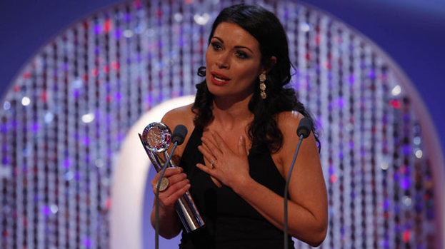 Best Actress: Alison King won the title at this year's British Soap Awards