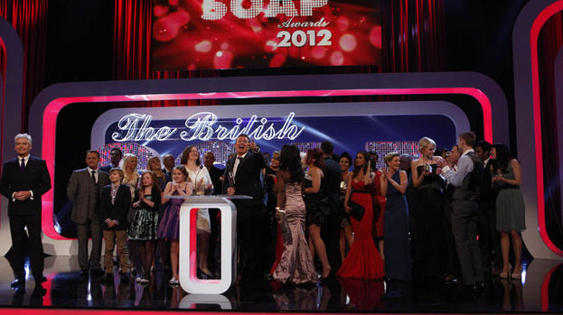 In soapy bubble: the star-studded British Soap Awards