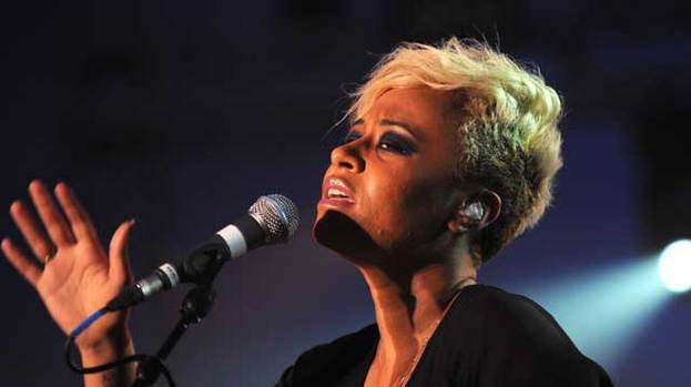 Olympic gig: Emeli Sande is to perforrm at Edinburgh Castle