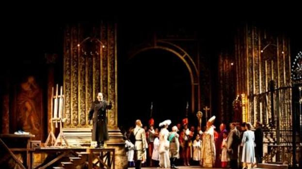 Not in church: Scarpia calls the tune in Scottish Opera's Tosca
