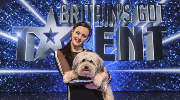 Top dog: Pudsey and Ashleigh were best in show on BGT