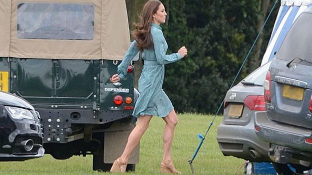 Polo: Mint fresh Kate steps out