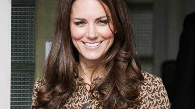 Smiles better: Kate Middleton has a dazzling smile