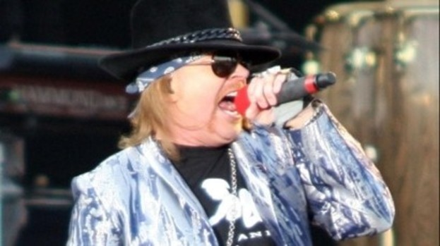 Axl Rose: Riding the Nighttrain solo