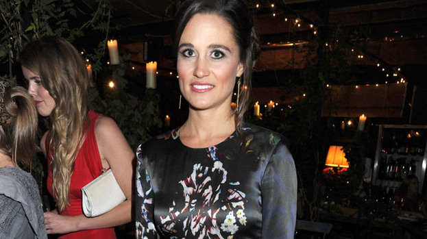 Style icon: Pippa Middleton attended another wedding at the weekend