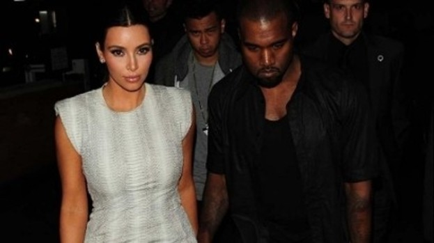 Me and my man: Kim Kardashian has reportedly warned beau Kanye West off mixing with Rihanna