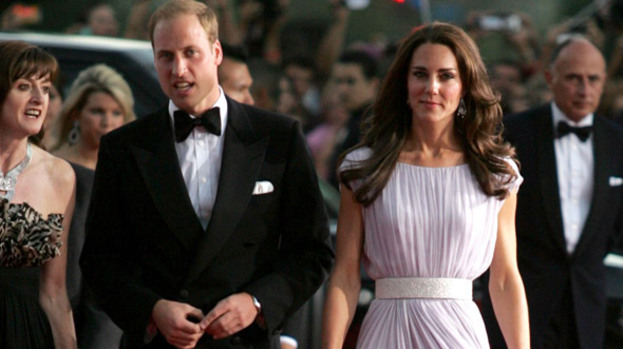 True honour: The Duke and Duchess of Cambridge will accompany the Queen next week