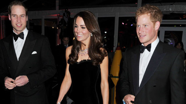 What should one wear? The Duke and Duchess of Cambridge and Prince Harry face a wardrobe dilemma this weekend