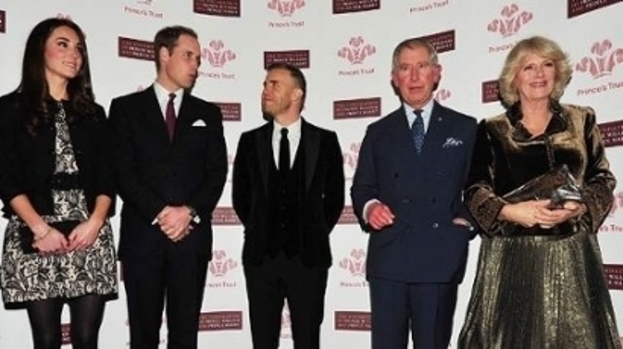 You're such a big star to me: Kate and Wills love Gary Barlow and can't wait for Jubilee concert