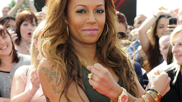 Sugar and Spice: Mel B at the X Factor auditions today (June 6)