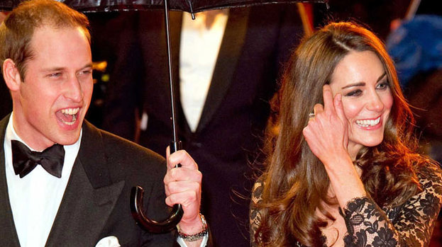 Special celebration: Duchess Kate is said to be busy planning a very special birthday bash for Prince William's 30th