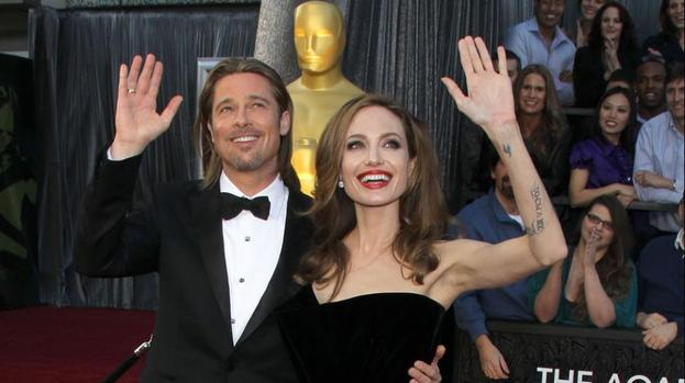 Brad Pitt and Angelina Jolie's £3,000 curry