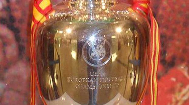 The European Championship trophy.