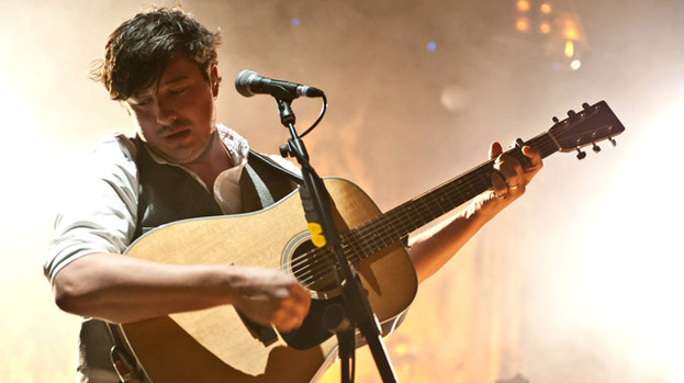 Short through the heart: Marcus Mumford brought sincerity to RockNess last night