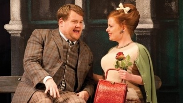 Up a stage: Corden in his award-winning role