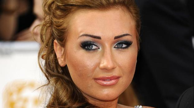Lauren Goodger kisses sports stars in Marbella