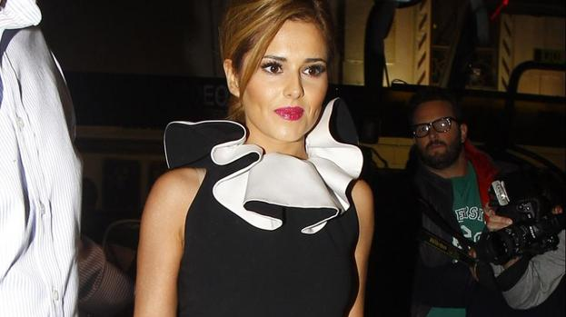 Cheryl Cole starstruck by royals