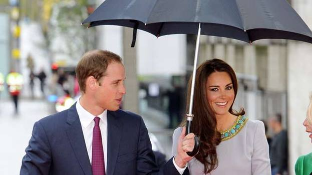 Brolly good: Kate and Wills are coming to Scotland