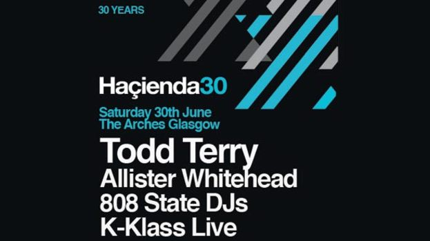 The Haçienda's 30th birthday celebrations hits Glasgow
