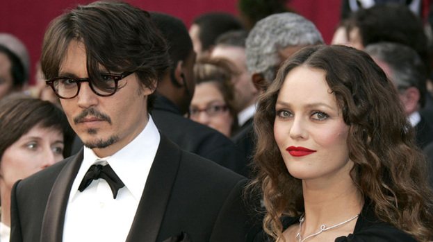 Love split: Johnny Depp and Vanessa Paradis have ended their relationship