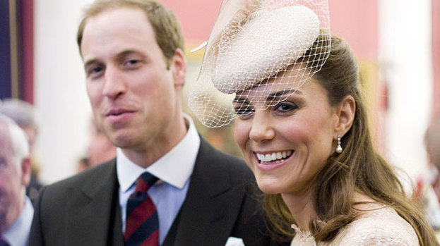 Happy birthday: Prince William will celebrate his 30th birthday with wife Duchess Kate by his side