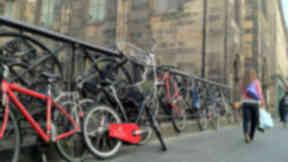 Popular route: George IV Bridge is part of the new 'Quality Bike Corridor'