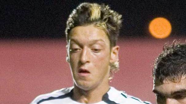Funny Pictures Of Mesut Ozil Hairstyles And Haircuts From Past