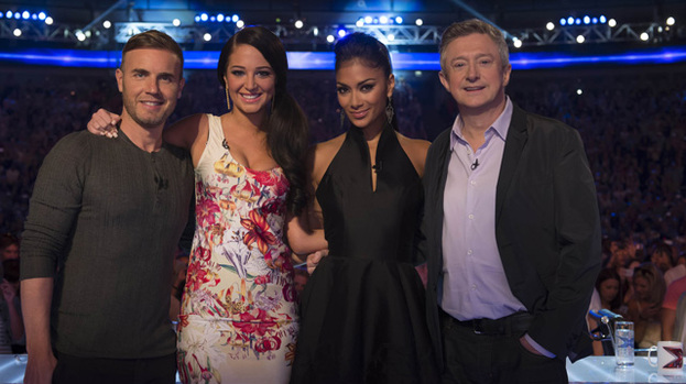 Hunt for talent: The X Factor judges will wrap up the audition stage of X Factor today