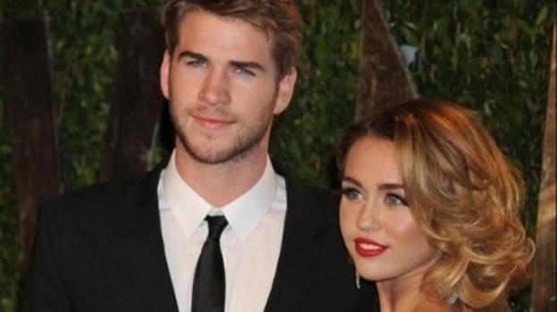 Set to marry: Miley Cyrus and Liam Hemsworth have sparked rumours they will wed this weekend