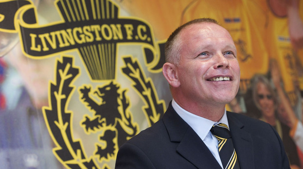 Livingston manager John Hughes