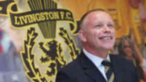 Livingston manager John Hughes