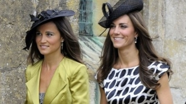 Wedding crashers: The Middleton sisters are weding belles (attending a wedding last year)