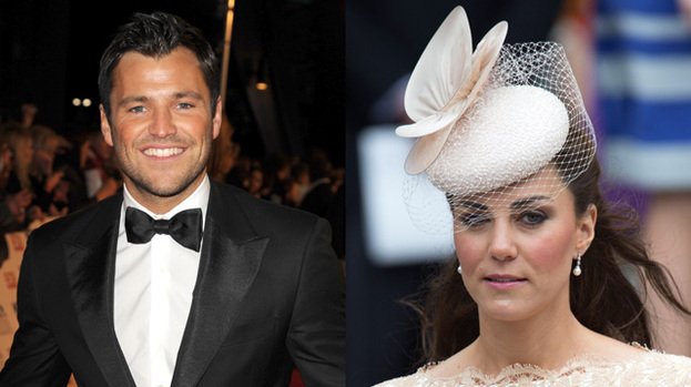 Fancy a date? Mark Wright thinks Duchess Kate is