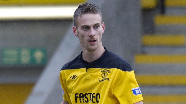Former Livingston striker Rory Boulding in the 2011-12 season.