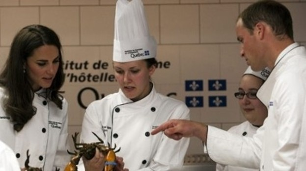 Ooh I must try this at home: Kate and Wills got cooking tips in Canada last year
