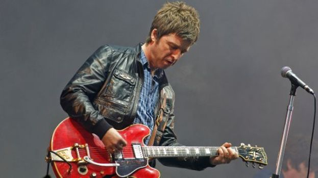 Noel Gallagher: Shaping up his own Oasis in the Park.