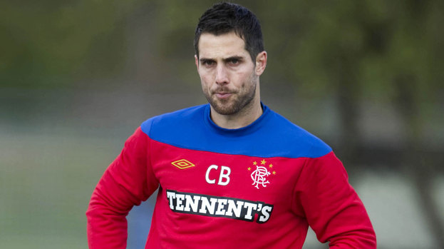 Carlos Bocanegra in training.