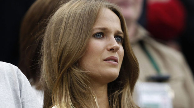 Ace: Kim Sears is heads above the rest at Wimbledon