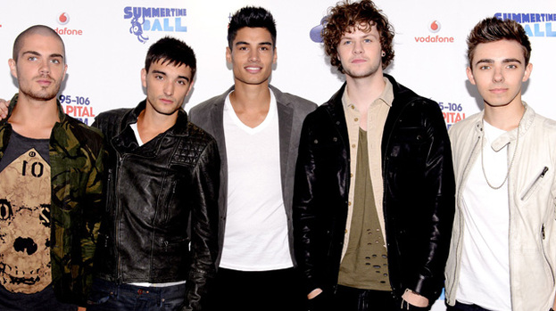 The Wanted to the rescue: The band rushed to help a girl who fainted in front of them in Glasgow Airport