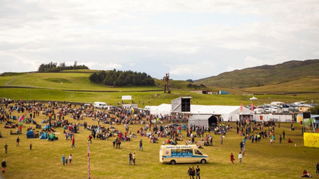 Wickerman review: Newton Faulkner