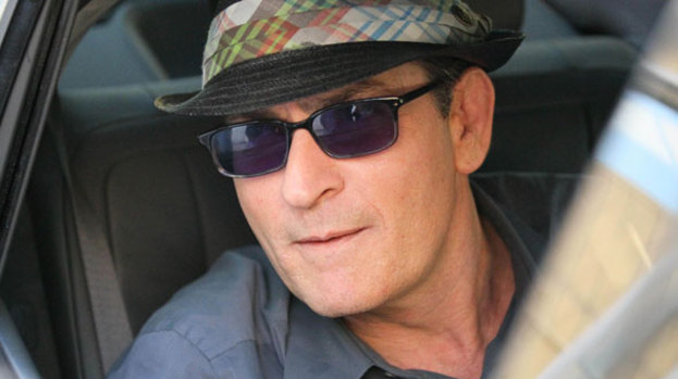 In it to win it: Charlie Sheen has been speaking out on Twitter and to media