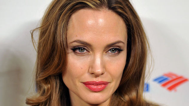 Jolie good: Angelina Jolie is said to be keen on landing a role in a movie version of Fifty Shades of Grey