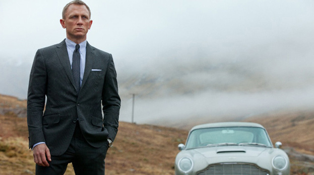 Reporting for duty: 007 agent James Bond aka Daniel Craig